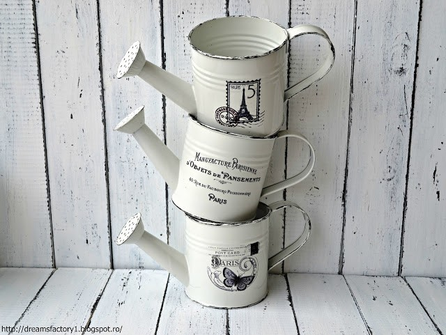 'French Made' Metal Pots | Watering cans | Dreams Factory