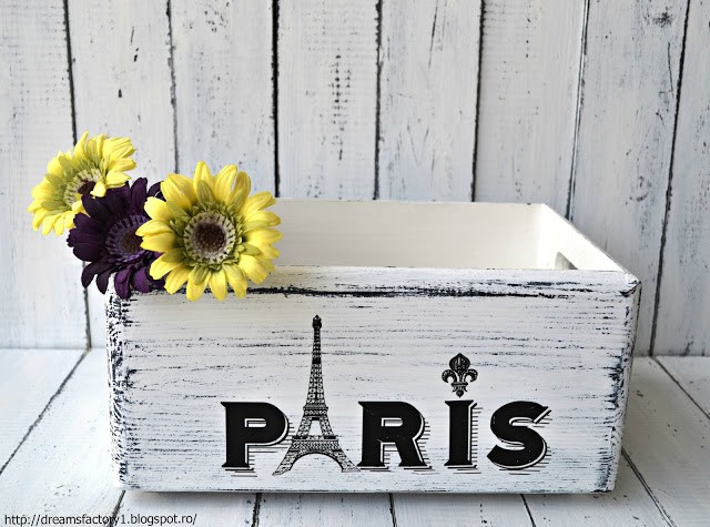French Made Crate / Ladita frantuzeasca French Made