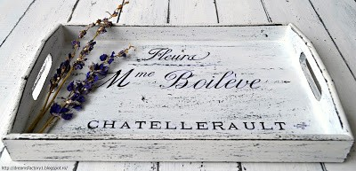 Shabby Chic French Tray |Fleura M-me Boileve | Dreams Factory