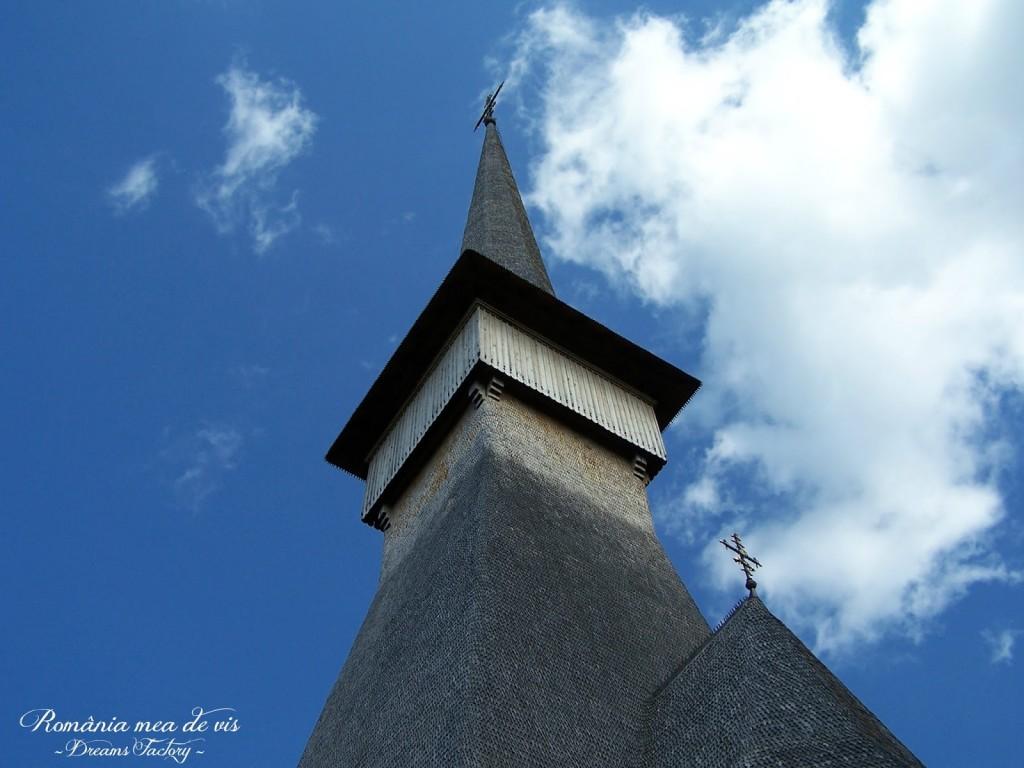 SAPANTA - PERI MONASTERY, the tallest wooden church in the world MANASTIREA SAPANTA PERI - cea mai inalta biserica de lemn din lume - MARAMURES -