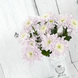 Semn vintage cu vaza ~ Maison des fleurs ~