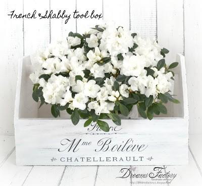 Shabby Chic French tool box |Fleura M-me Boileve