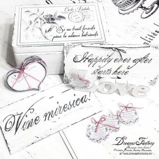 Add handmade touches to a special event from your life ♦ Adauga accente handmade unui eveniment special din viata ta