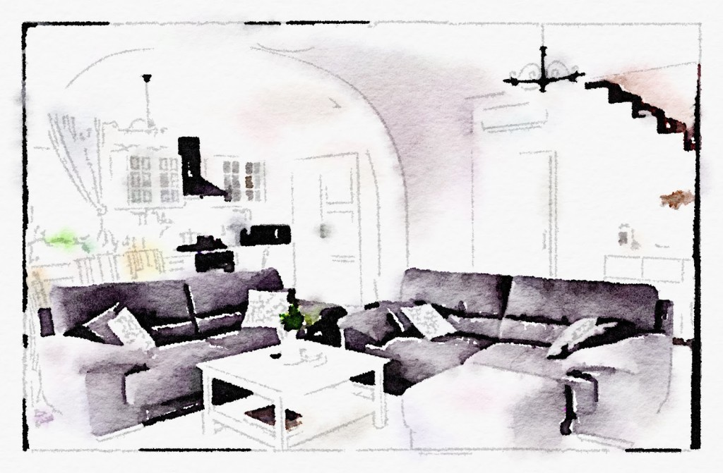 Waterlogue obsession or how to easily turn your memories into watercolor paintings