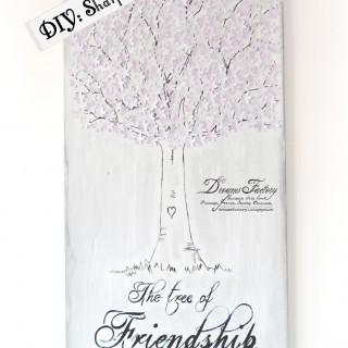 DIY: Sharpie Wood Sign ♦ Tutorial: Un semn din lemn realizat cu marker Sharpie