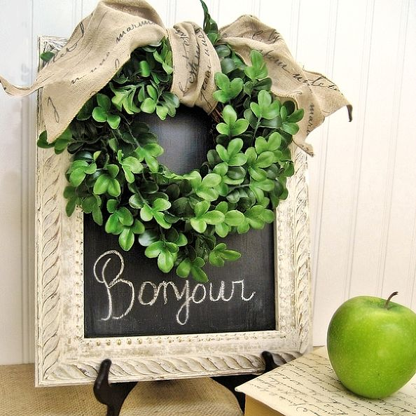 Boxwood and French Script Bargains