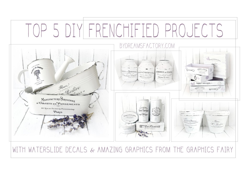 Top 5 DIY Frenchified projects