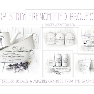 Top 5 DIY Frenchified Projects with amazing graphics from The Graphics Fairy ♦ Top 5 proiecte DIY cu iz frantuzesc, cu imagini minunate de pe The Graphics Fairy