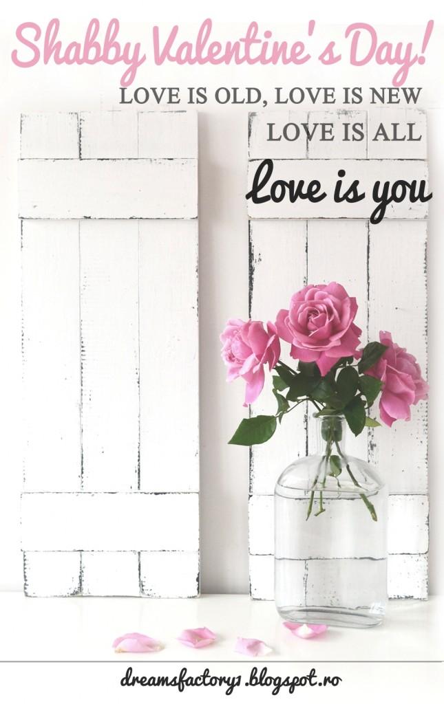 Shabby Valentine's Day