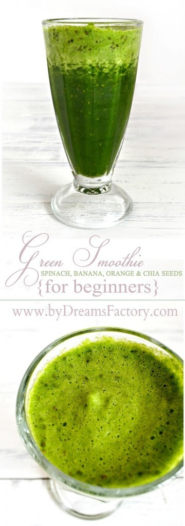 The perfect green smoothie for beginners - Dreams Factory