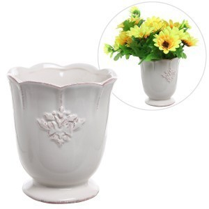 French Country Ceramic Decorative Vase