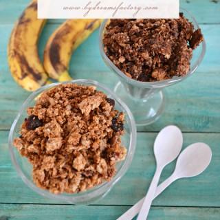 Homemade Granola – vanilla for her, chocolate for him / Granola de casa – vanilie pentru ea, ciocolata pentru el