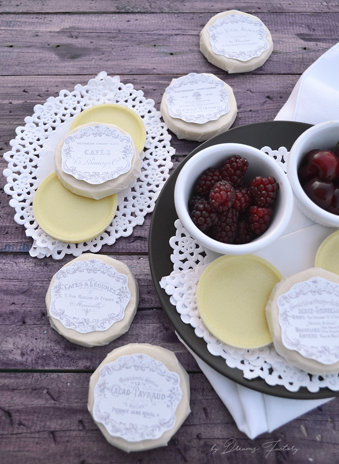 Insanely delicious homemade vegan white chocolate with only 4 ingredients. Beautified with French labels, best when enjoyed with your loved ones - Dreams Factory