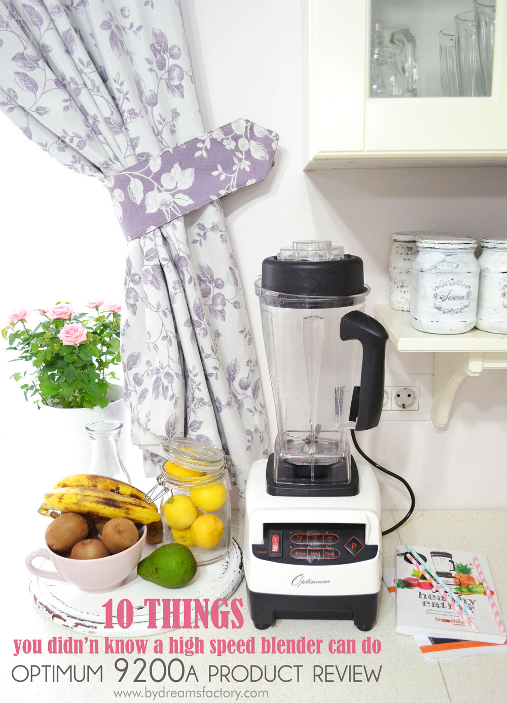10 things you didn't know a high speed blender can do - Optimum 9200A review