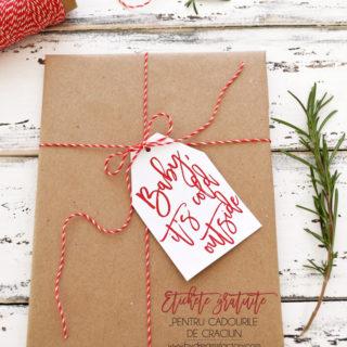 Etichete gratuite pentru cadourile de Craciun