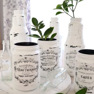 10 Tips for spring decorating with chic French Jars