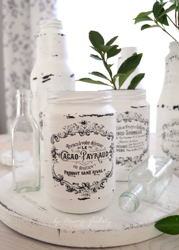 10 Tips for spring decorating with chic French Jars - by Dreams Factory