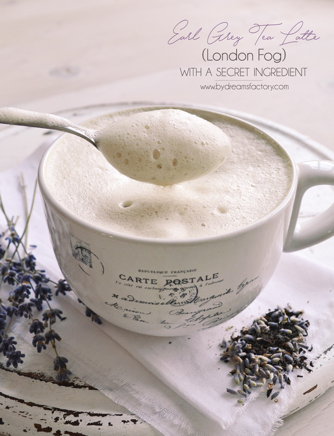 Earl grey tea latte london fog with a secret ingredient solutioingenieria Choice Image