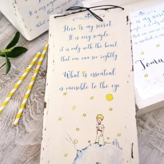 The Little Prince handmade set