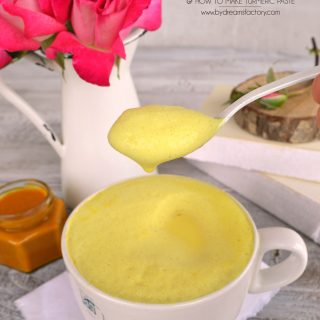 Creamy and Frothy Golden Milk Turmeric Latte