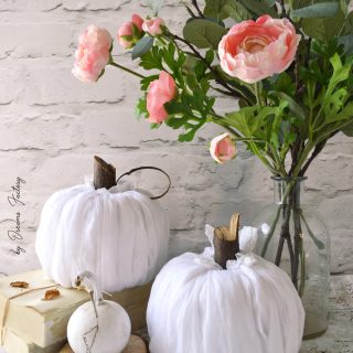 DIY No-sew fabric pumpkins | Ready in 5 minutes!