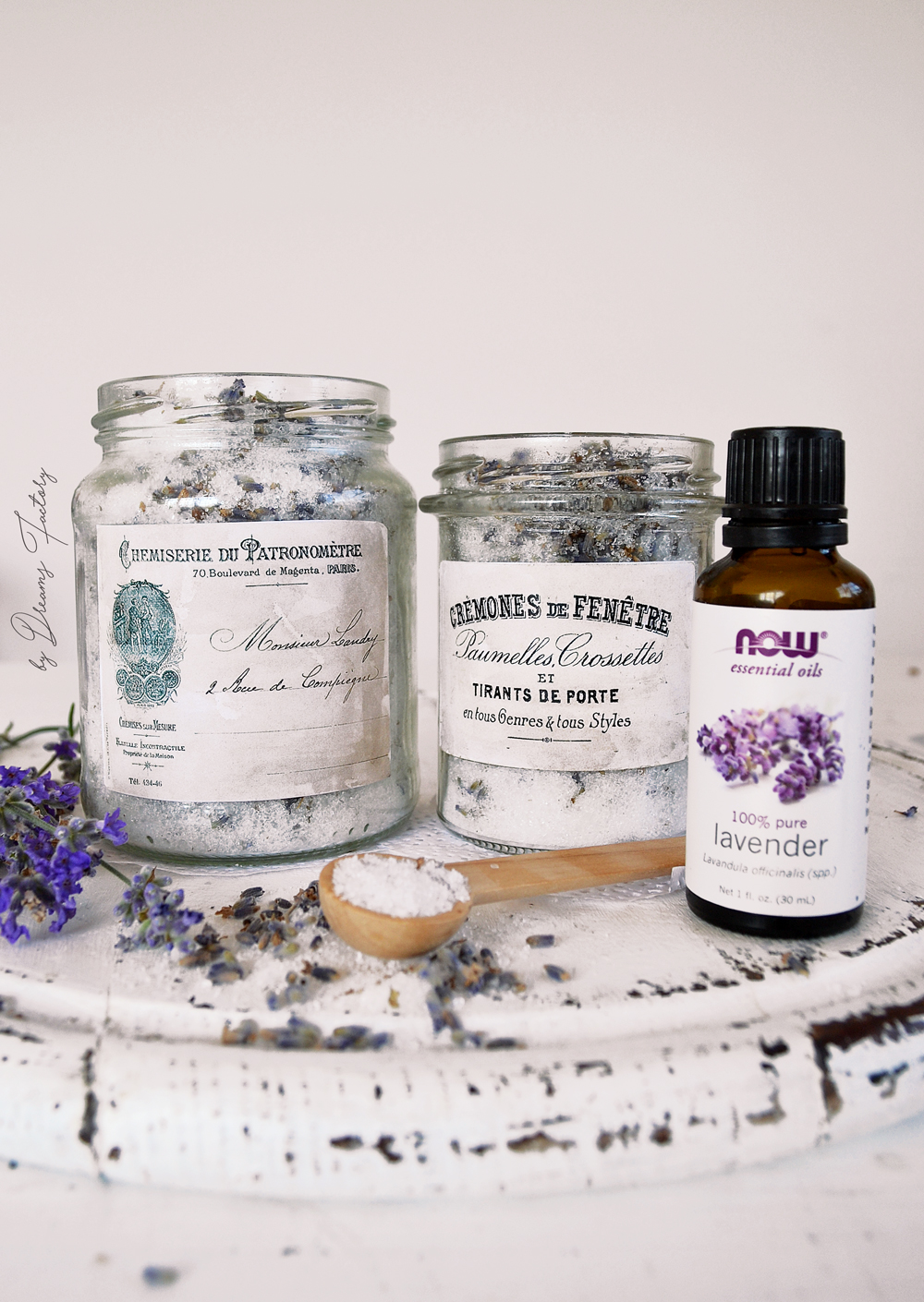 Epsom salt & lavender detox bath soak with therapeutic and relaxing properties - by Dreams factory