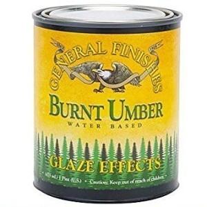 Burnt Umbre Glaze Effect - General Finishes